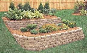 Small Picture Amazing of Retaining Wall Garden 17 Best Ideas About Small