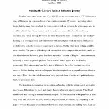cover letter template for personal reflective essays examples   an example of a reflective essay example of reflective essay example resume sample book writing