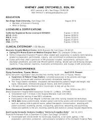 Professional Nursing Resume Template – Dyppedukop.info