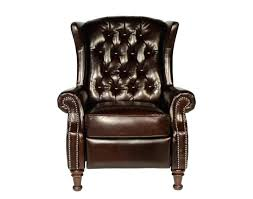 wing back recliner slipcover leather tufted sure fit ticking stripe chair