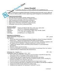 Mechanical Test Engineer Sample Resume Resume Cv Cover Letter