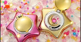 sailor moon star locket toys gold