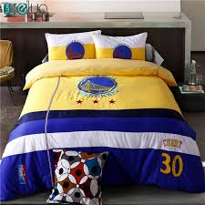 football bedding sets bed in a bag with duvet cover flat sheet and pillow case twin queen bed embroider set bed queen bed football bedding with