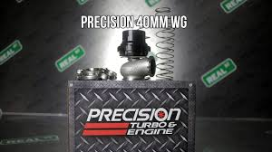 Precision 40mm Wastegate Pte 085 1500 Real Street Performance