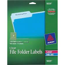 Avery File Folder Labels 5366 Template Wholesale File Folder Labels By Avery Discounts On Ave5029