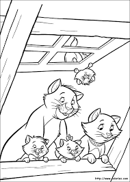 Coloring Pages Of Aristocats