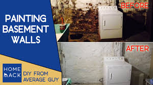 painting basement wallsPainting basement stone walls  Normal guy paints cellar  YouTube