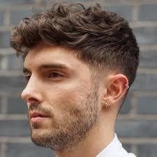 Mens Hairstyles Wavy Hair Thick
