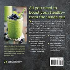Smoothie Recipe Chart Healthy Smoothie Recipe Book Easy Mix And Match Smoothie Recipes For A Healthier You
