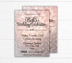Birthday Party Invitation Birthday Party Invitation Printable Surprise Birthday Invitation