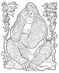 Coloring Book Of Animals Millie Marottas Animal Kingdom A Colouring