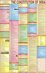 Buy Constitution Of India Chart Book Online At Low Prices In