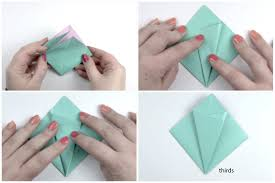 Paper Folded Flower Make An Easy Origami Lily Flower