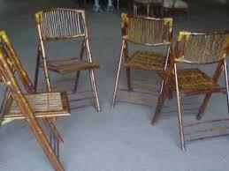 wicker folding chairs. SET 4 RATTAN BAMBOO FOLDING CHAIRS GORGEOUS Wicker Folding Chairs E