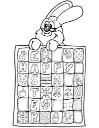 Since we love kids and babies so much we will provide you with free and printable coloring pages! Easter Quilt Coloring Page Free Printable Coloring Pages For Kids