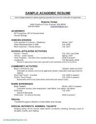 Examples Of Teenage Resumes For First Job Sample Resume Examples For