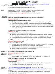 so what would weissmans entry level resume look like after incorporating this feedback from all three experts probably something like this tour guide resume