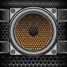 music speakers clipart. musical speaker on perforated background vector clipart music speakers clipart