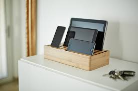 unique design furniture ipad iphone charging station