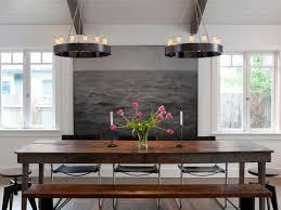 rustic modern rustic modern dining room