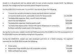 joseph is a uq graduate and tax adviser