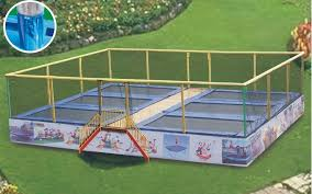 spring force trampoline. usa jumping mat*galvanized steel tube*high strength spring* 6 beds big trampoline spring force