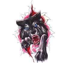 тритатушки архив блога эскизы тату волка