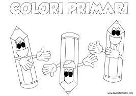 Schede Didattiche Sui Colori Primari Classe Prima Colori Colori