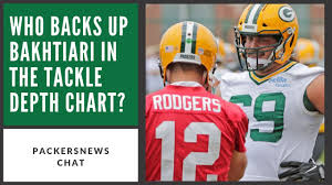 Who Backs Up David Bakhtiari In The Tackle Depth Chart Packersnews Chat Ep 5