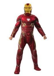 Menu0027s Marvel Infinity War Deluxe Iron Man Costume