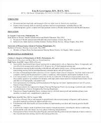 How To Make A Nursing Resume Amazing Pediatric Nurse Resume And Get Inspired To Make Your With These