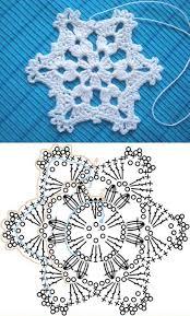 Crochet Snowflake Pattern Chart Wonderful Diy Crochet Snowflakes With Pattern