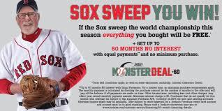 Jordan s Furniture 2017 Red Sox Promotion