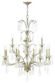 light two tier chandelier silver leaf fredrick ramond lighting history traditional chandeliers