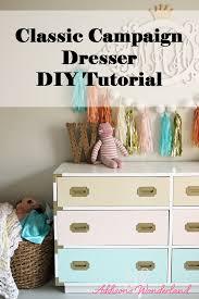 diy furniture makeover full tutorial. Campaign Dresser DIY Makeover. Tutorial Diy Furniture Makeover Full
