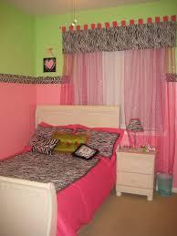 Pink Green And Zebra Bedroom Girls Room Designs Decorating