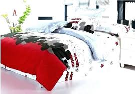mickey and minnie mouse bedding queen size mouse bedding mouse duvet cover mouse queen size bedding cotton mickey comforter set mickey minnie mouse bedding