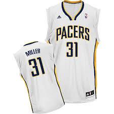 Home Nba 31 Swingman White Miller Mens Jersey Reggie Pacers Adidas Indiana