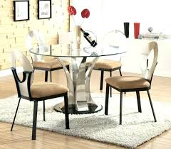 captivating modern glass dining room table best contemporary set d