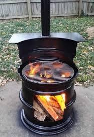 Gas Bottle Wood Burner Design 41 Hottest Outdoor Fireplace Designs Ideas For Barbecue