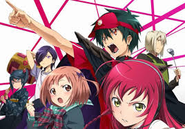 anime devil works at mcdonalds the devil is a part timer hataraku maou sama review released in