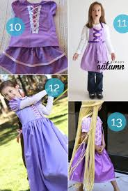 best tutorials for a diy rapunzel costume great ideas for or dress up