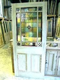 ed s stained glass french doors patio