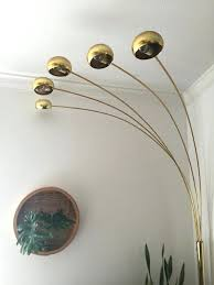 mid century arc floor lamp