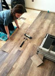 how to install self adhesive vinyl tile flooring on concrete