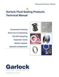 Garlock Fluid Sealing Goodyear Rubber Products Inc