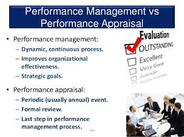 Performance Management Vs Appraisal-Which Is Best ? (Useful)
