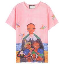 <b>2018</b> Pink Short Sleeves <b>Cartoon Print</b> Women'S <b>T Shirts</b> Brand ...