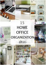 kitchen office organization ideas. Office Organizing Ideas. Exellent 15 Home Organization Ideas Via A Blissful Nest With Kitchen R