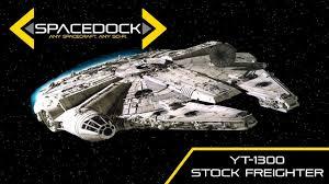 Yt 1300 Light Freighter Star Wars Yt 1300 Light Freighter Spacedock